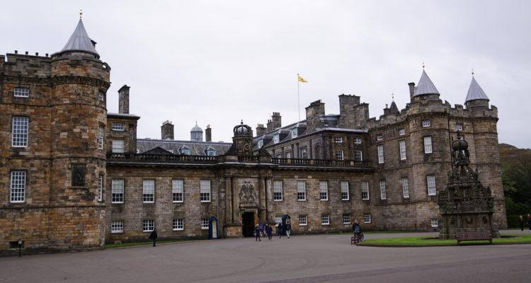 荷里路德宮, 女王花園, Palace of Holyroodhouse
